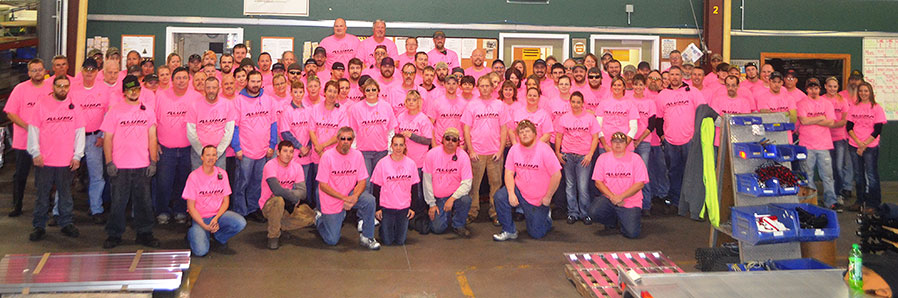 Breast Cancer Awareness event in Bancroft, IA