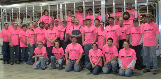 Breast Cancer Awareness event in Emmetsburg, IA