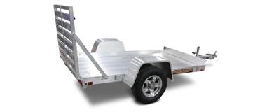 Single Axle Utility Trailers
