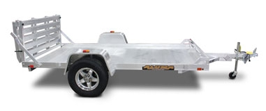 Single Heavy Axle Utility Trailers