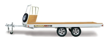 Open Snowmobile Trailers