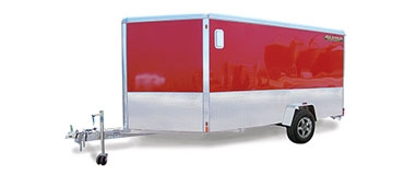 Enclosed Single Axle Sport Trailers