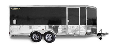 Enclosed Tandem Axle Sport Trailers