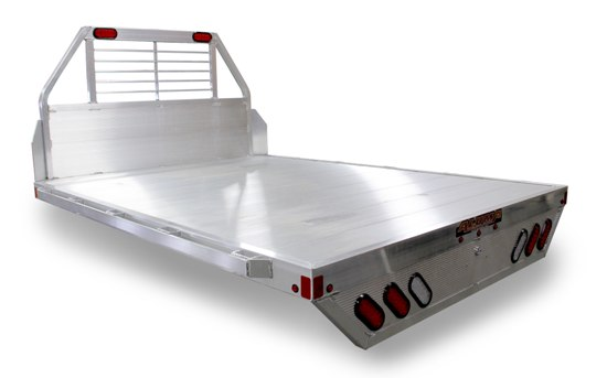 8100 Flatbed Truck Beds | Aluma Trailers