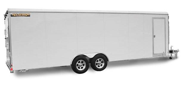 Enclosed Tandem Axle Car Hauler Aluma Trailers