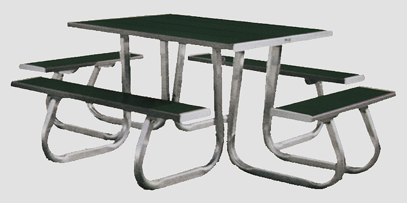 4 sided picnic table picnic tables and park benches 4 sided picnic table watchthetrailerfo