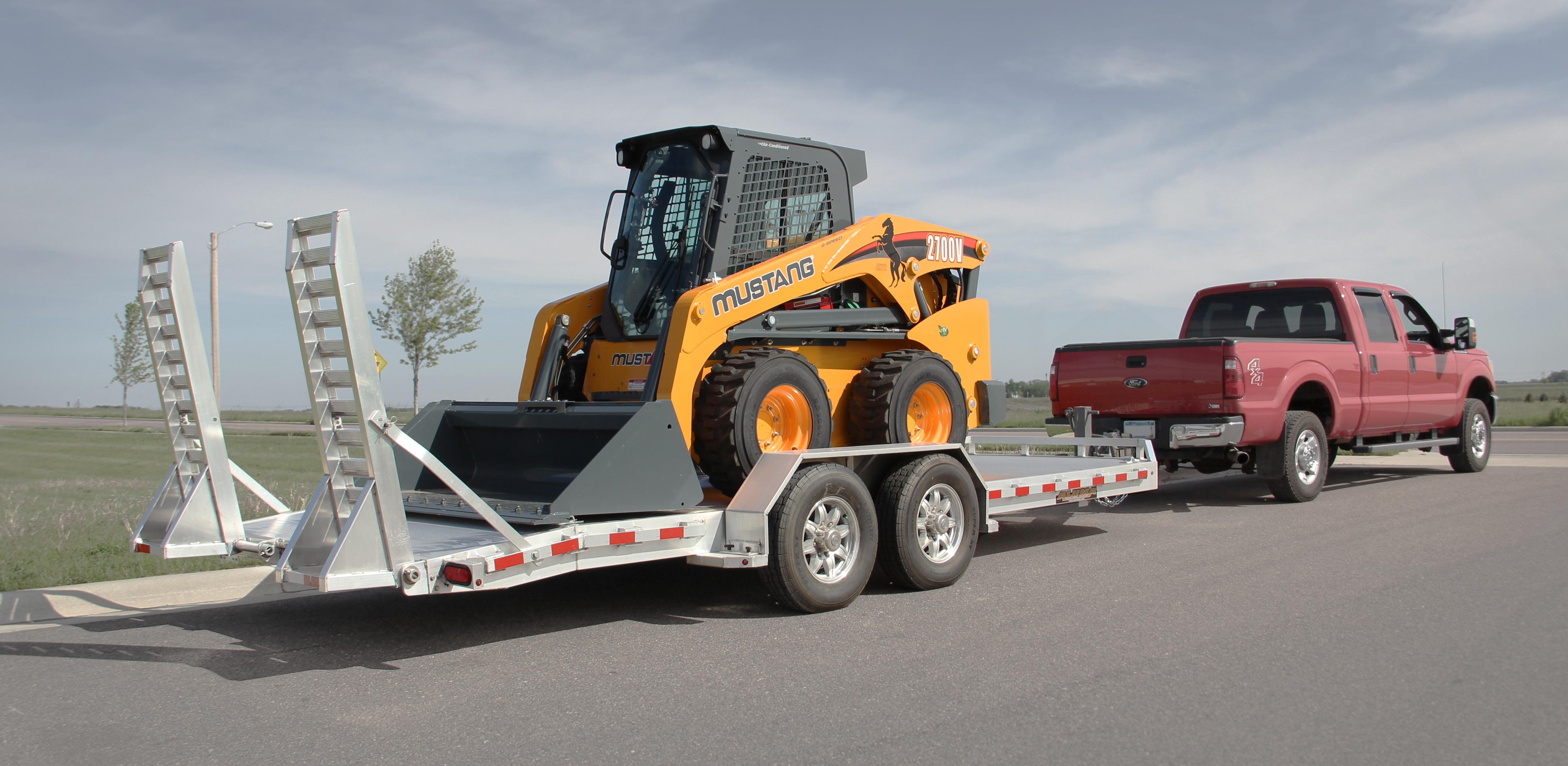 8200 Super Heavy Tandem Utility Trailer Tandem Axle