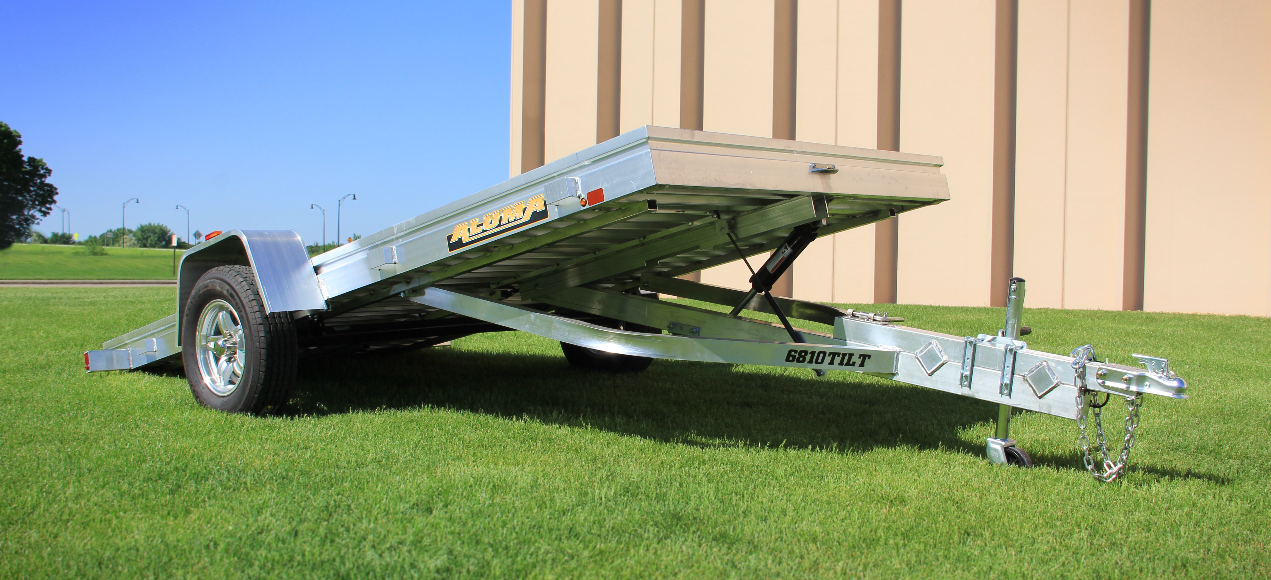 Single Axle Trailers Aluma Trailer Wiring Diagram On Applications Small Boat Or Utility 6810t