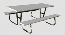 Aluminum Picnic Tables Park Benches Commercial Park Benches - Park bench and table
