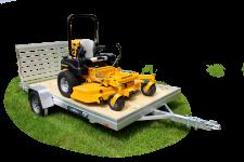 6800ESW - Wood Deck Utility Trailers