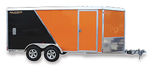 two tone enclosed trailer sportpkg 2015
