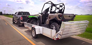 20151028 weight distribution - 8114SR trailer on the highway